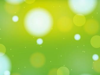 Disegno di sfondo in luce verde
