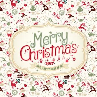 Disegno di sfondo Natale
