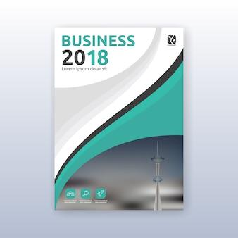Disegno modello di brochure