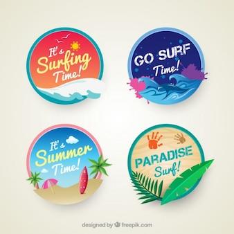 distintivi Surf