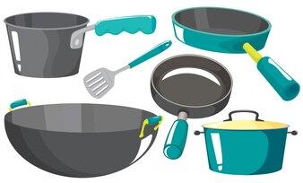 Attrezzature da cucina foto e vettori gratis - Tipi di coltelli da cucina ...