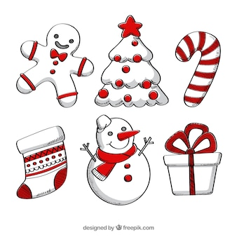 Divertenti elementi natali