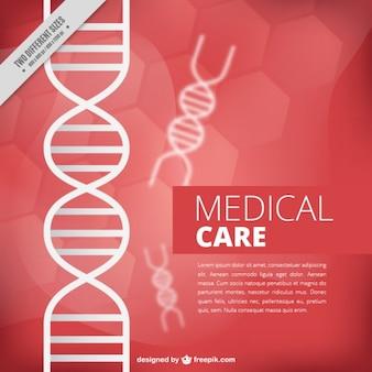 DNA sfondo medico