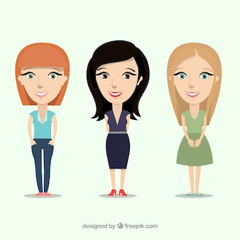 Donne illustrazione