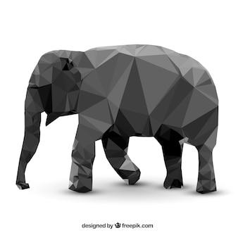 Elefante poligonale