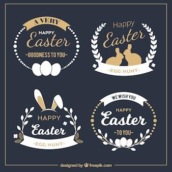 Elegante collezione distintivo di Pasqua