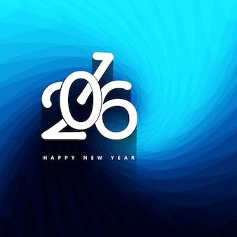 Elegante nuovo anno 2016 saluto