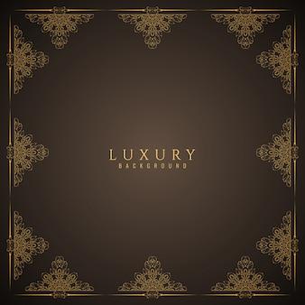 Elegante sfondo di lusso di colore marrone