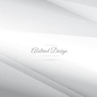 Elegante vettore d'argento minima sfondo bianco