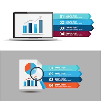 Elementi infografici impostati