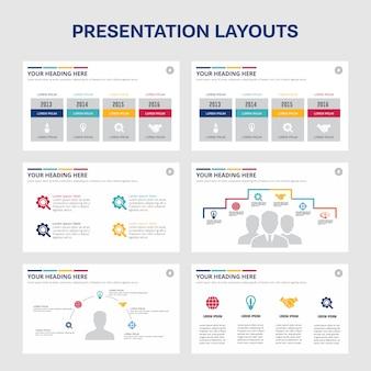 Elementi infographic collezione
