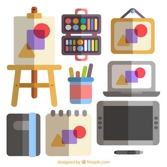 Arti grafiche scaricare foto gratis for Piccoli piani di studio