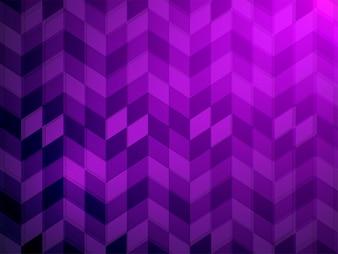 Elemento creativo forma luce mosaico