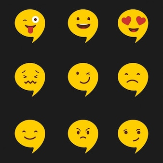 Emoji set di icone