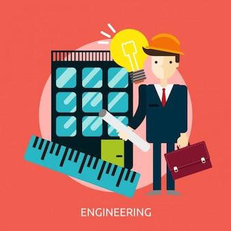 Engineering di progettazione sfondo