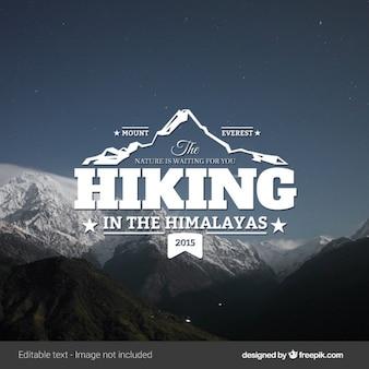 Escursionismo annata logo