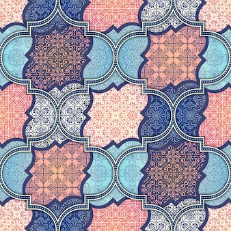 Ethnic floreale seamless Abstract pattern ornamentale