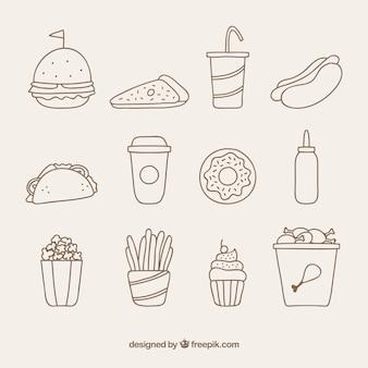 Fast food icone