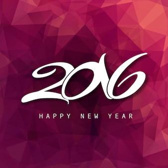 Felice anno nuovo 2016 carta