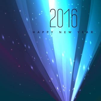 Felice anno nuovo annuncio neon