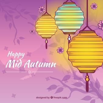 Felice Festa di metà autunno