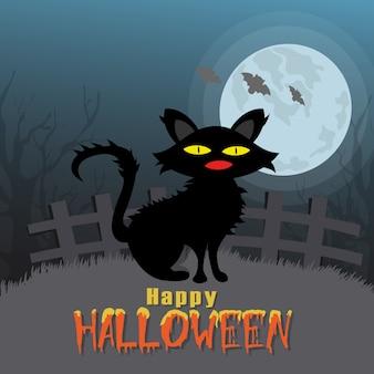 Felice Halloween vettore