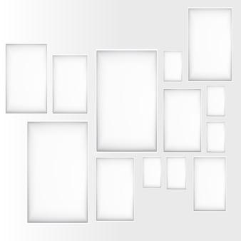 Finestra di sfondo vettoriale. Design della struttura