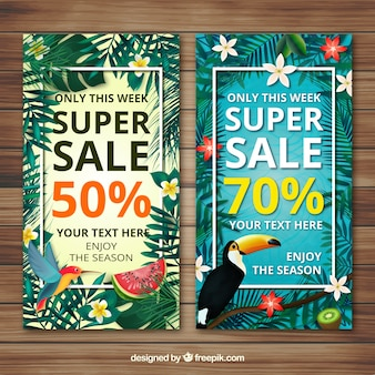 Fiorito estivi vendita banner
