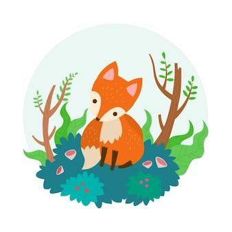 Fox Illustrazione