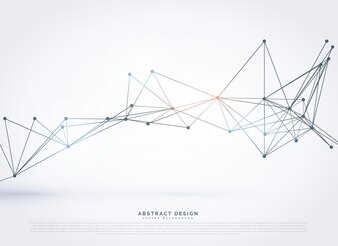 Geometrica astratta tecnologia poligonale stile di sfondo
