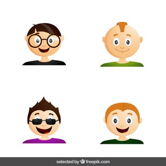 Gli uomini moderni avatar