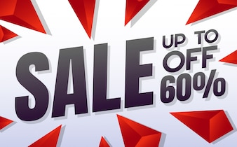 Grande banner di vendita di vendita Vector sfondo per banner, poster, volantino
