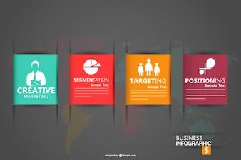 Graphic Business infografica vettoriale