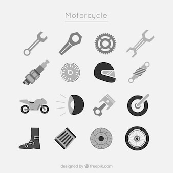 Icone del motociclo