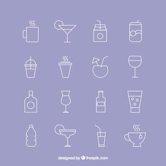 Icone della bevanda