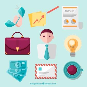 Icone di business creativi
