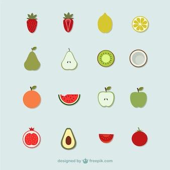 Icone di frutta