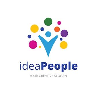Idea logo template