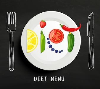 Il concetto di dieta.