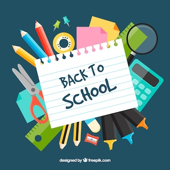 Illustrazione Creative back to school