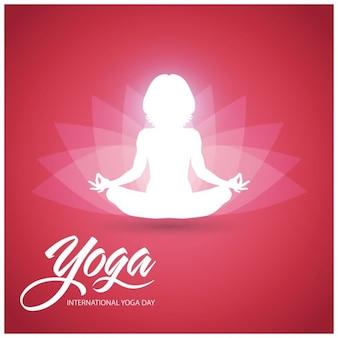 Illustrazione di vettore di giorno Internazionale di Yoga