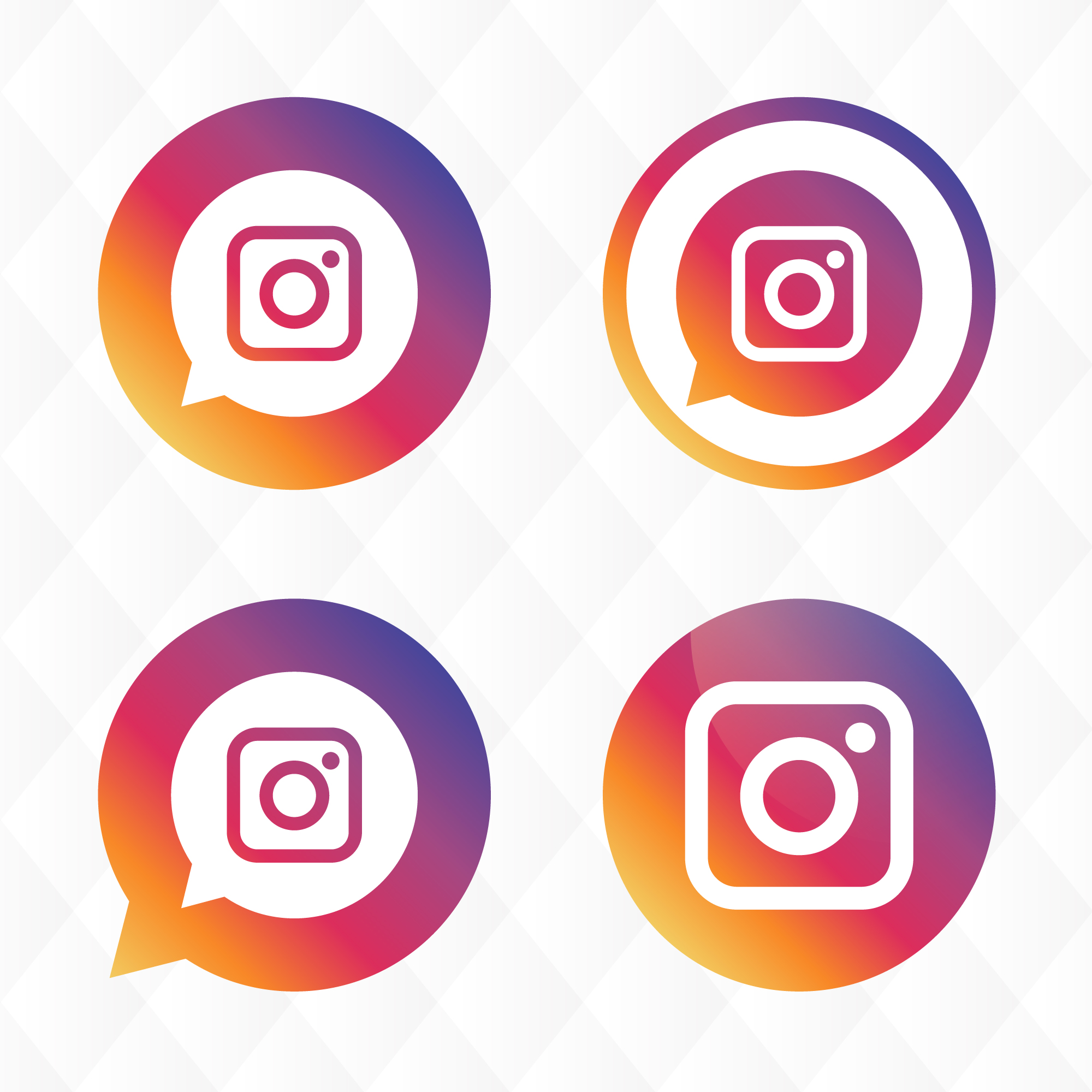 Instagram icona del design