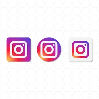 Instagram logo pacchetto