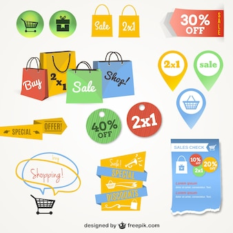 Interfaccia grafica lo shopping on-line