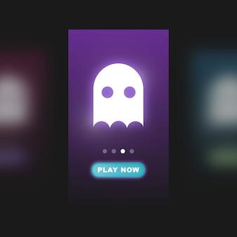 Interfaccia utente per il gioco mobile