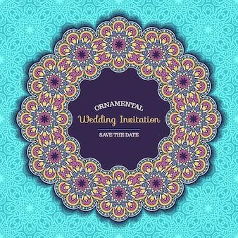 Invito a nozze stile Boho