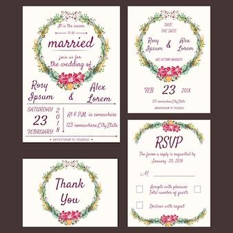 Invito di nozze, Salva la data