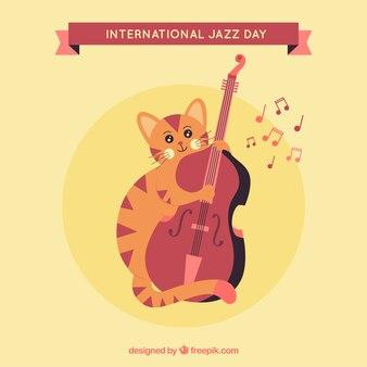 Jazz di sottofondo jazz con violino