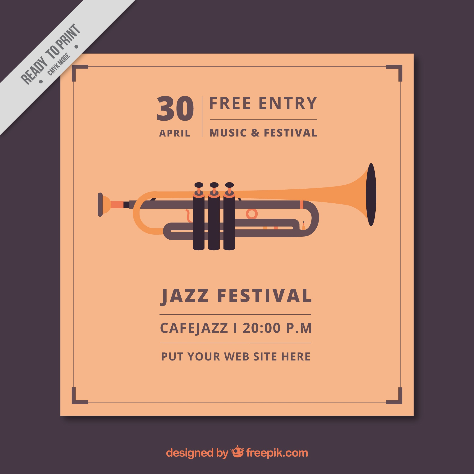 Jazz festival brochure epoca