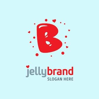 Jelly logo bacground